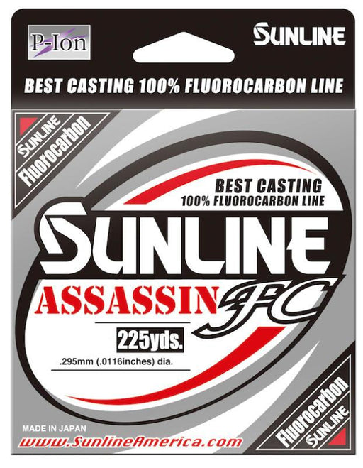 Sunline Assassin FC Fluorocarbon 225 Yards 8 LB
