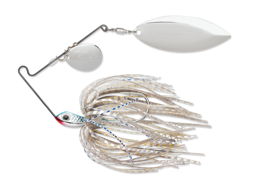 Terminator Super Stainless Spinnerbait Colorado Willow 1/2 Oz. Blue Shad Nickel