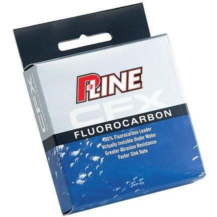 P-Line CFX Clear Fluorocarbon Leader 27 Yards 2 LB 27 YDS