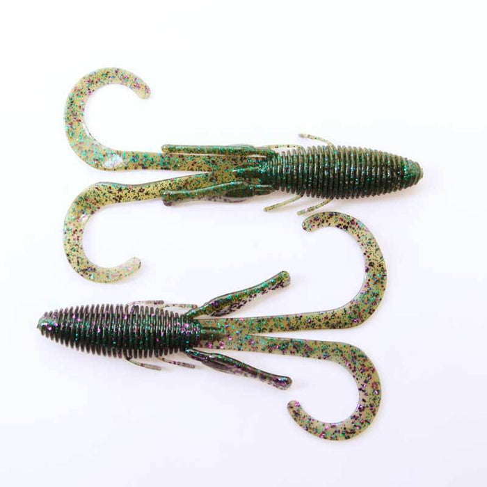 Missile Baits Baby D-Stroyer Fishing Soft Plastic Bait 10 Pack Bass Choose Color