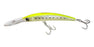 Yo-Zuri Crystal 3D Minnow Floating Deep Diver Trolling Lure Banana Peel