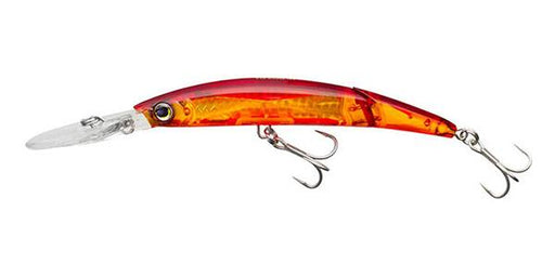 Yo-Zuri Crystal 3D Minnow Floating Jointed Deep Diver 5 1/4 inch Trolling Lure Banana Peel