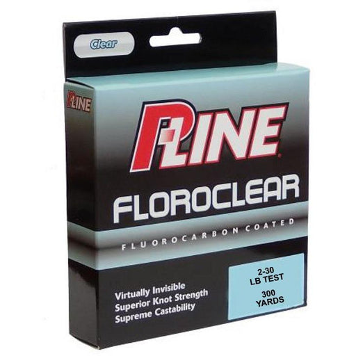 P-Line Floroclear Clear Fishing Line 2 LB - 300 YDS