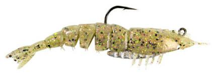 Z Man EZ ShrimpZ 3 1/2 inch Rigged w/ Mustad Weighted Hook 2 pack