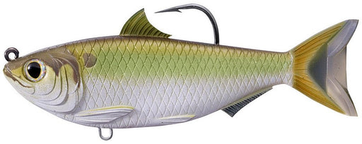 LIVETARGET Threadfin Shad Swimbaits 3 1/2 inch - Green Bronze