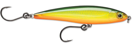 Rapala X-Rap Twitchin/' Minnow SXRT10 4 inch Twitchbait Red Ghost