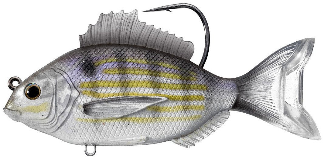 LIVETARGET Pinfish Swimbait 3 1/2 inch Silver Green