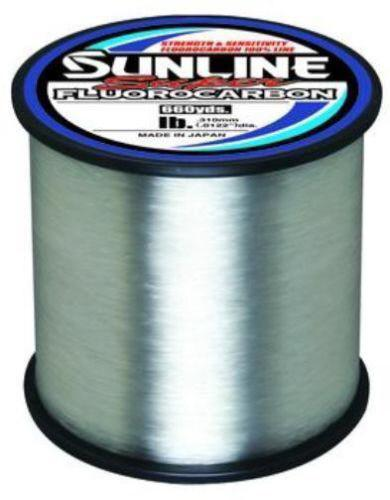Sunline Super Fluorocarbon Clear 660 Yards 8 LB