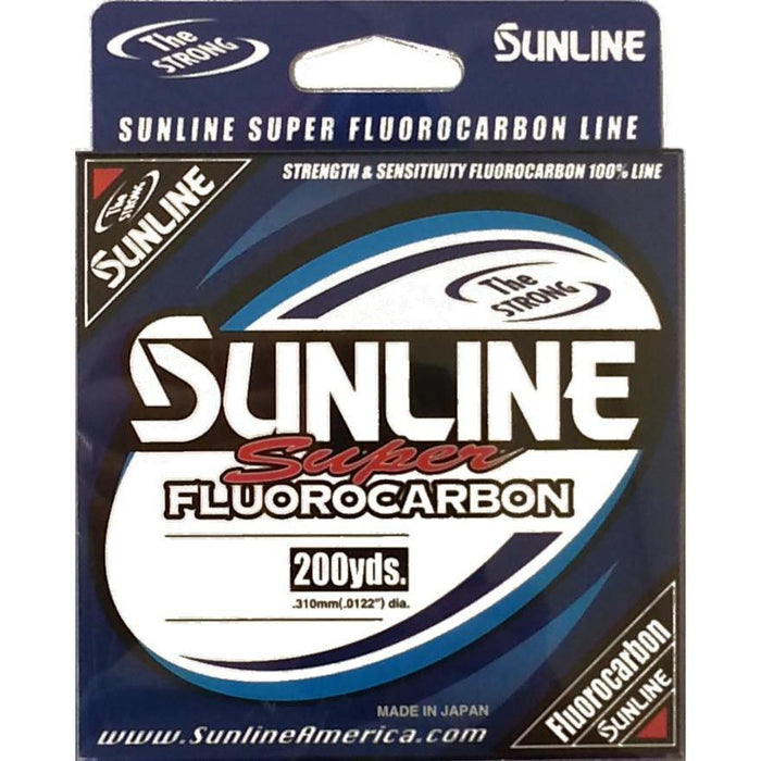 Sunline Super Fluorocarbon 200 Yards 8 LB