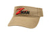 Z-Man Garment Washed Logo Visor