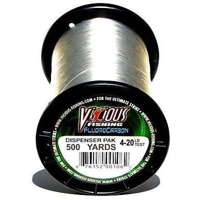 Vicious Fluorocarbon Fishing Line 500 Yards 4 LB