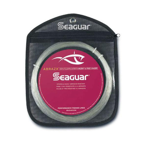 Seaguar Abrazx Fluorocarbon Musky/Pike Fishing Line 25 Yards 80 LB