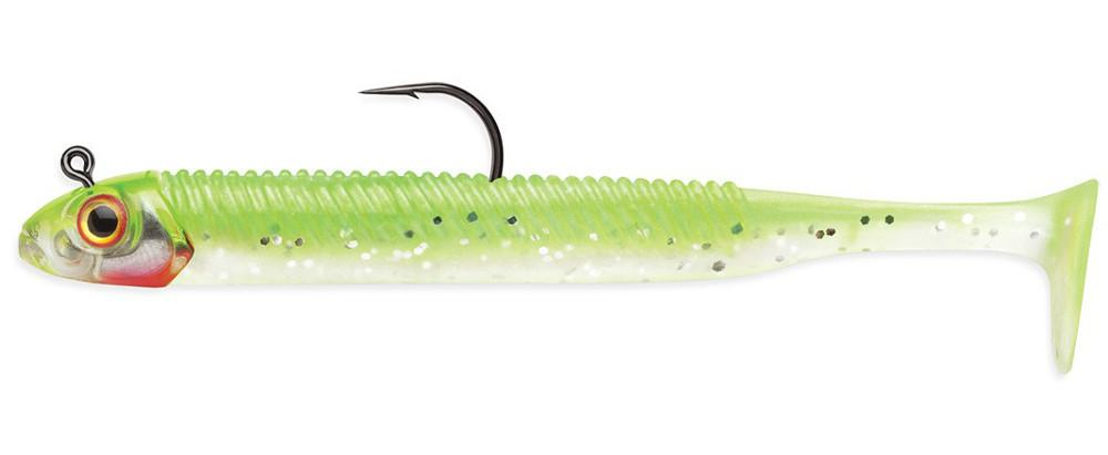 Storm 360GT Rigged Searchbait Swimbait 4 1/2 inch Chartreuse Ice