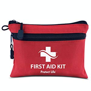Protect Life 100-Piece First Aid Kit Pouch