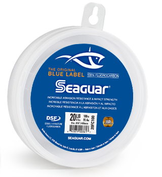 Seaguar Blue Label Fluorocarbon Leader Wheel 25 Yards