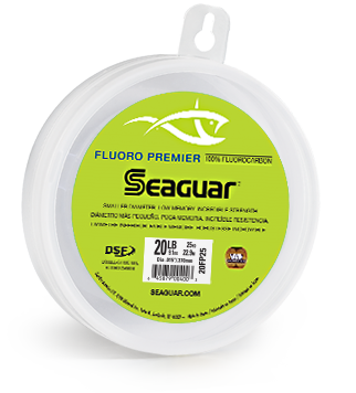 Seaguar Fluoro Premier Leader Wheel 25 Yards