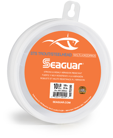 Seaguar STS Salmon Trout Steelhead Fluorocarbon Leader 100 Yards