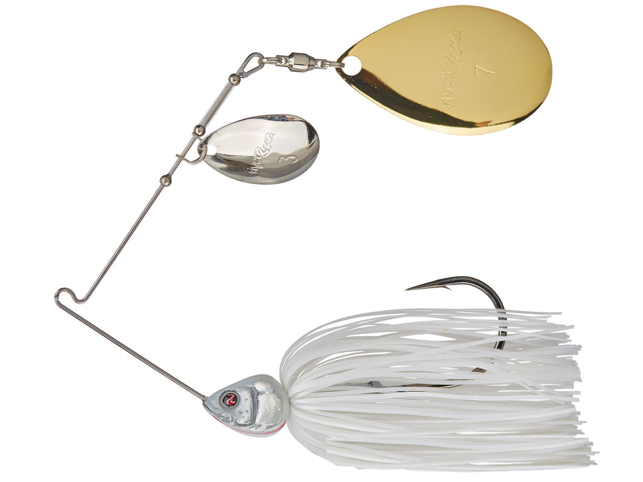River2Sea Ish Monroe Bling Spinnerbait Colorado or Willow Blades 1//2 ounce