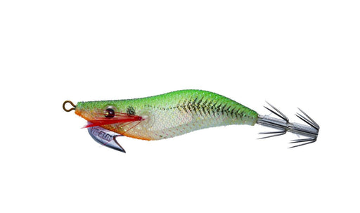 "Yo-Zuri Egi Aurie-Q ""RS"" Sinking 2 1/4 inch Squid Jig Luminous Green"