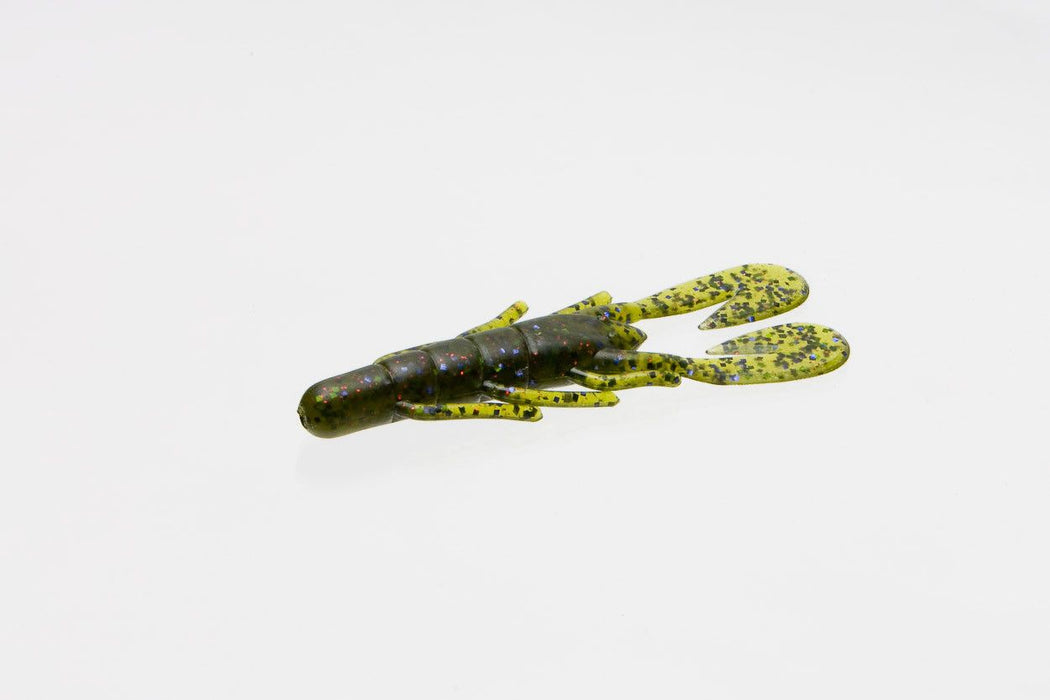 Zoom Ultra-Vibe Speed Craw 3 1/2 inch Soft Plastic Craw 12 pack