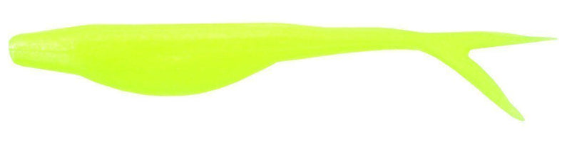 Zoom Super Fluke Jr. 4 inch Soft Jerkbait 10 pack Albino