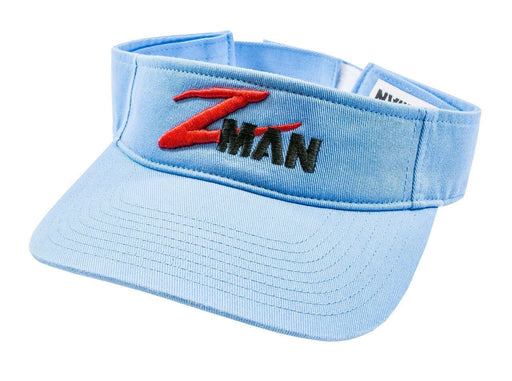 Z Man Garment Washed Logo Visor Blue