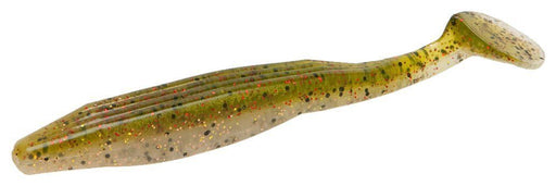 Zoom Swimmin' Super Fluke 5 inch Soft Paddle Tail Swimbait 5 pack Albino