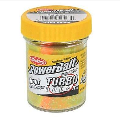 Berkley Powerbait Glitter Turbo Dough 1.75 oz. Jar Rainbow