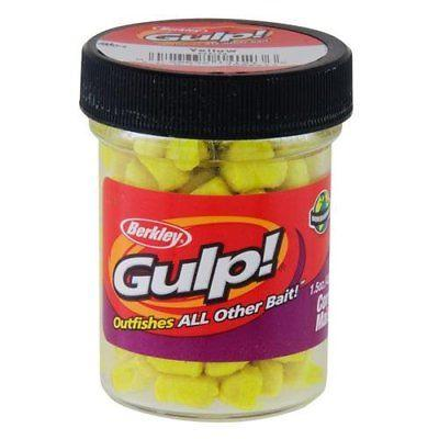 Berkley Gulp! 1/4 inch Corn Yellow 1.5 oz. Jar Default Title