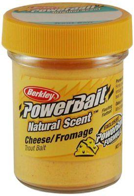 Berkley PowerBait Natural Scent Trout Bait 1.75 oz. Jar Cheese