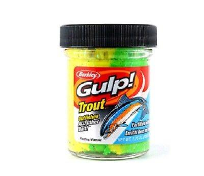 Berkley Gulp! Trout Dough Natural Garlic Scent 1 75 oz  Jar