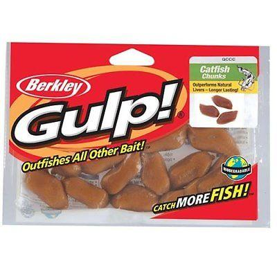 Berkley Gulp Catfish Bait Chunks 12 pack