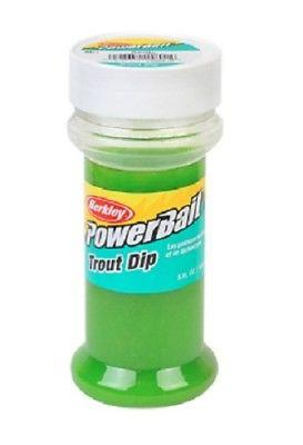 Berkley PowerBait Trout Dip Attractant 5 oz. Plastic Bottle Garlic Mint