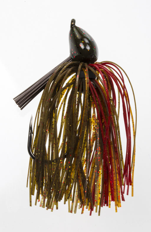Strike King Denny Brauer 1 oz. Structure Jig Black Blue