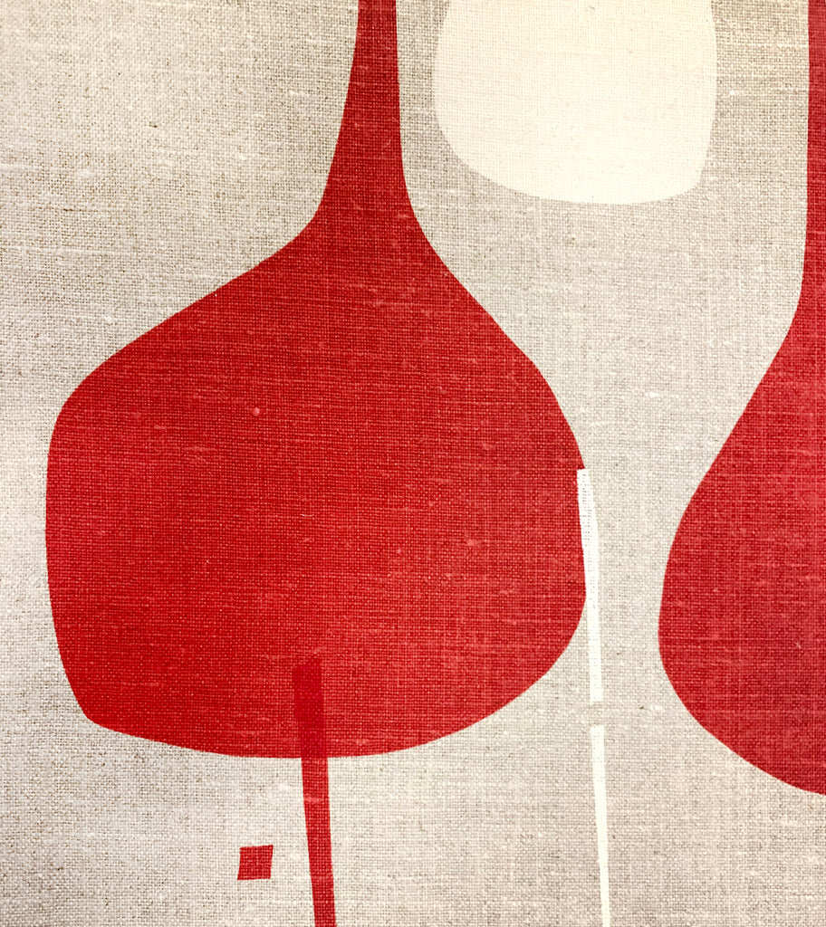 Looking for Water Red Rust - upholstery linen