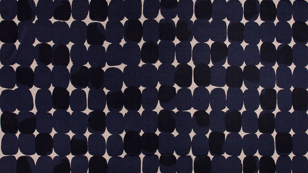 Stoney Indigo - hemp cut piece - 145 x 83cm