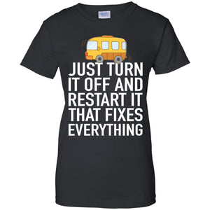 Bus car Just turn it off and restart it that fixes everything