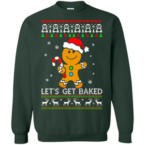Let's Get Baked Gingerbread ugly sweater