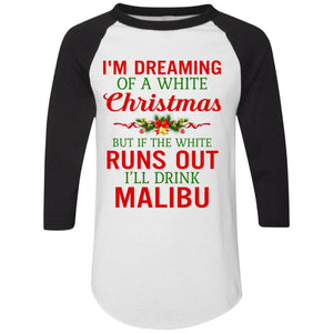 I'm dreaming of a white Christmas but if the white runs out I'll drink Malibu