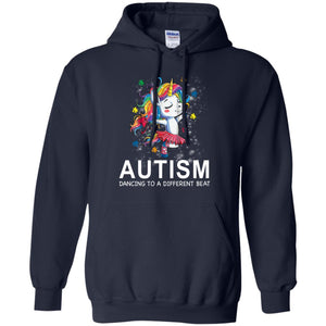 Autism Unicorn dancing to a different beat