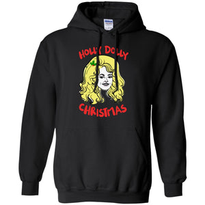 Holly Dolly Christmas ugly sweatshirt