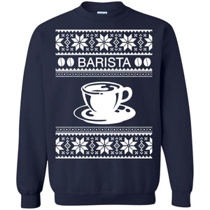 Barista Ugly Christmas sweater