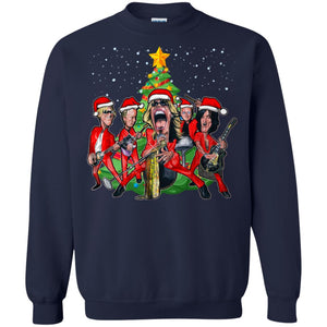Aerosmith Christmas Sweatshirt
