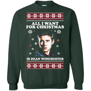 All I want for Christmas is Dean Winchester sweater