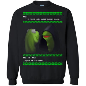 Dat Boi The Evil Kermit Christmas sweater