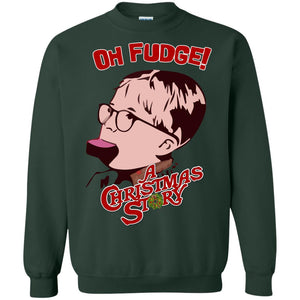 Oh fudge a Christmas story sweater