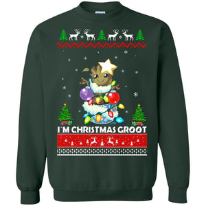 I'm a Christmas Groot ugly sweater