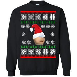 Gnome Child Christmas sweater