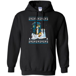 Doctor who Calvin Dalek Christmas sweater