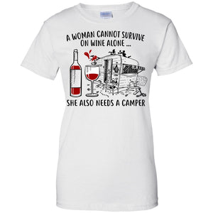 A Woman cannot survive on Wine alone she also needs a Camper
